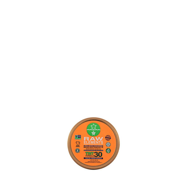 Raw Elements Tinted SPF 30 Facial Moisturizer: Live By