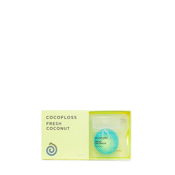 Cocofloss Coconut Vegan Dental Floss: Live By