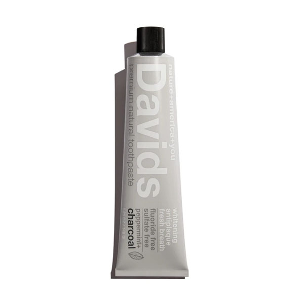 Davids Natural Charcoal Toothpaste: Live By
