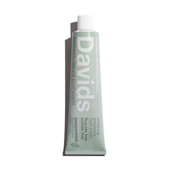 Davids Natural Peppermint Toothpaste: Live By
