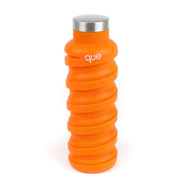 que Collapsible Bottle Orange: Live By