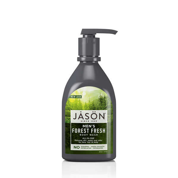 Jason Mens Forest Fresh Body Wash: Live By