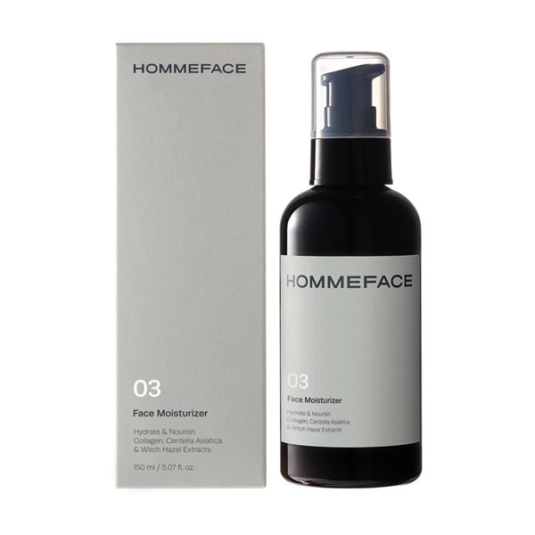 HOMMEFACE Face Moisturizer: Live By