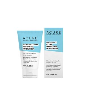 Acure Mattifying Facial Moisturizer