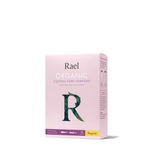 Rael 100% Organic Cotton Unscented Tampons (Regular)