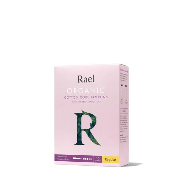 Rael 100% Organic Cotton Unscented Tampons (Regular)