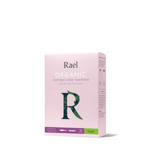 Rael 100% Organic Cotton Unscented Tampons (Super)