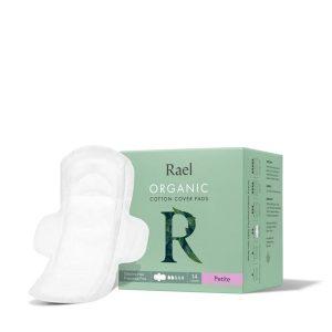 Rael Organic Cotton Menstrual Pads Petite