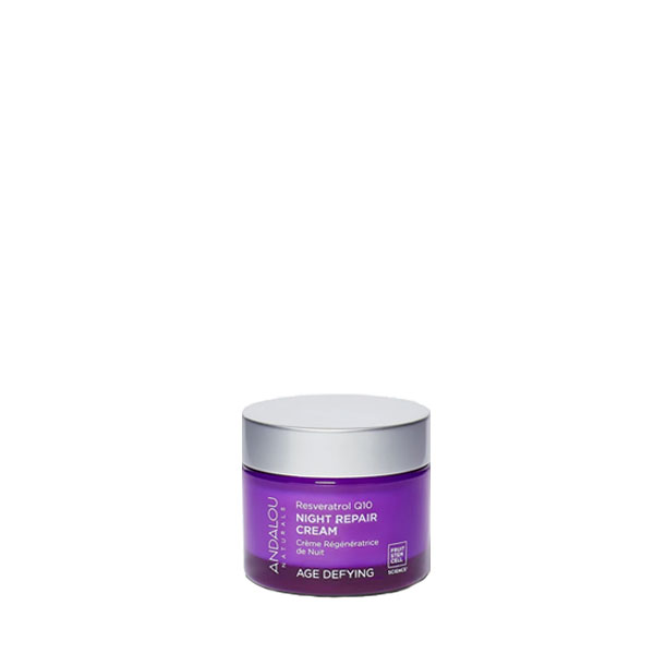 Andalou Naturals Resveratrol Night Repair Cream: Live By
