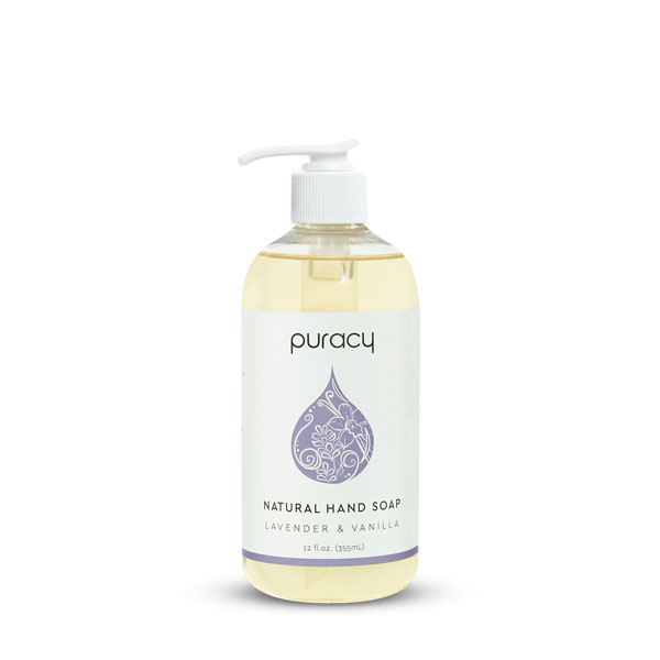 Puacy Natural Hand Soap: Live By