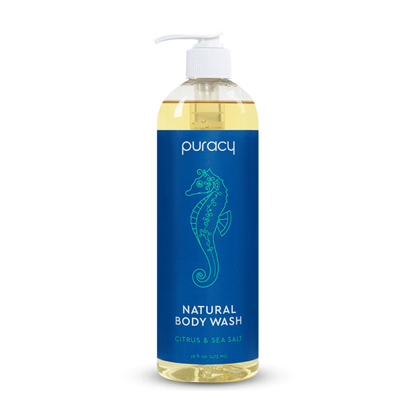 Puracy Natural Body Wash: Live By