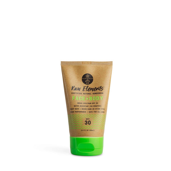 Raw Elements Face + Body SPF 30 Live By