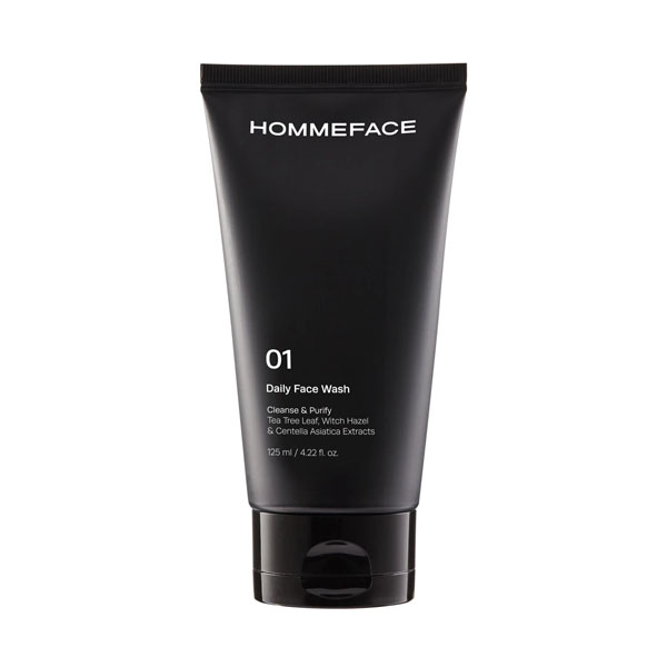 HOMMEFACE Daily Face Wash: Live By