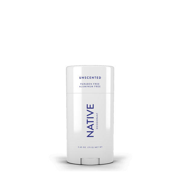 Native Unscented Deodorant: Live By