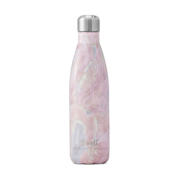 Swell Geode Rose 17 oz Bottle: Live By