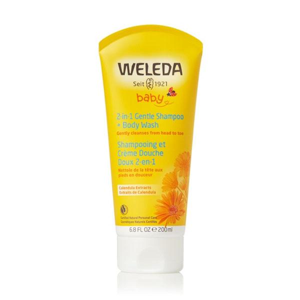 Weleda Baby Gentle Shampoo and Body Wash: Live By